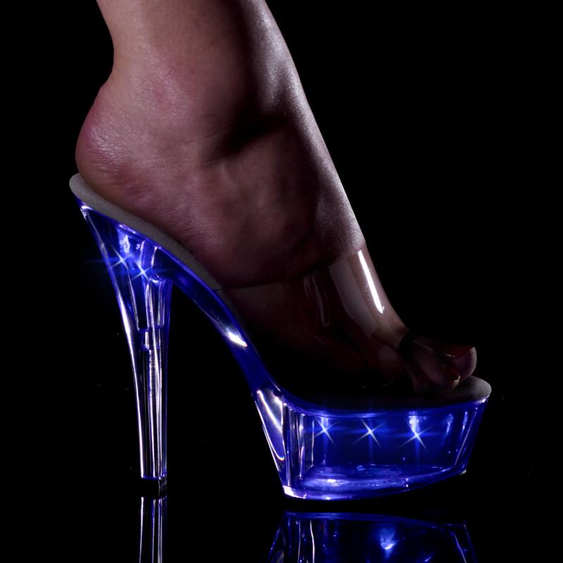 Kiss-201 LT obuv na podpatku a vysoké platformě Pleaser