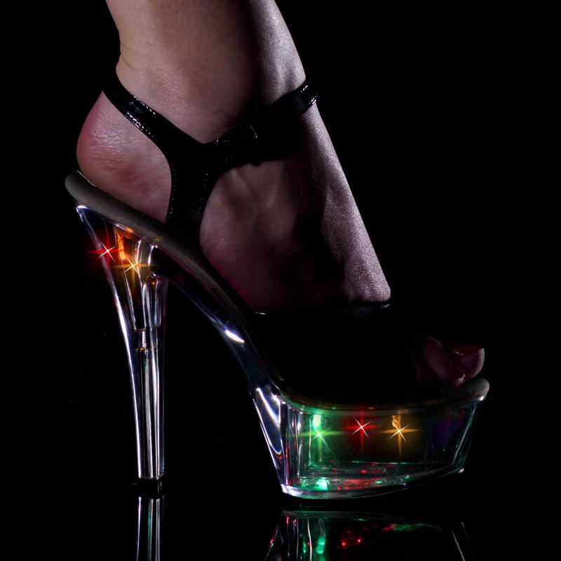 Kiss-209 LT obuv na vysoké platformě a podpatku Pleaser
