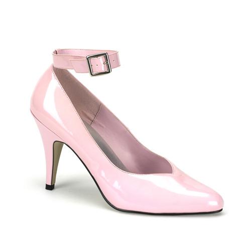 Dream-431W růžové lodičky Pleaser na podpatku