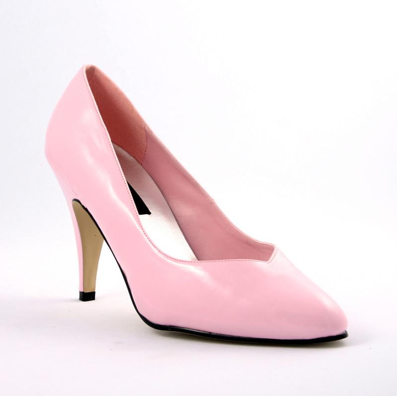 Dream-420w světle růžové lodičky Pleaser na podpatku