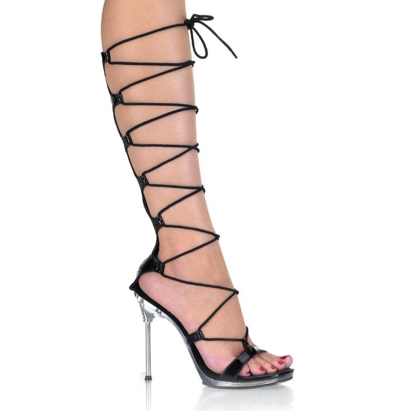 Chic-60 boty Pleaser na vysokém podpatku