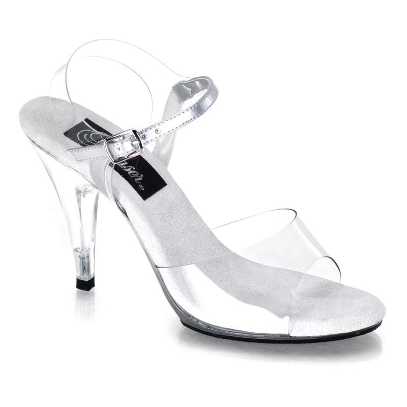 Caress-408 sandálky na podpatku