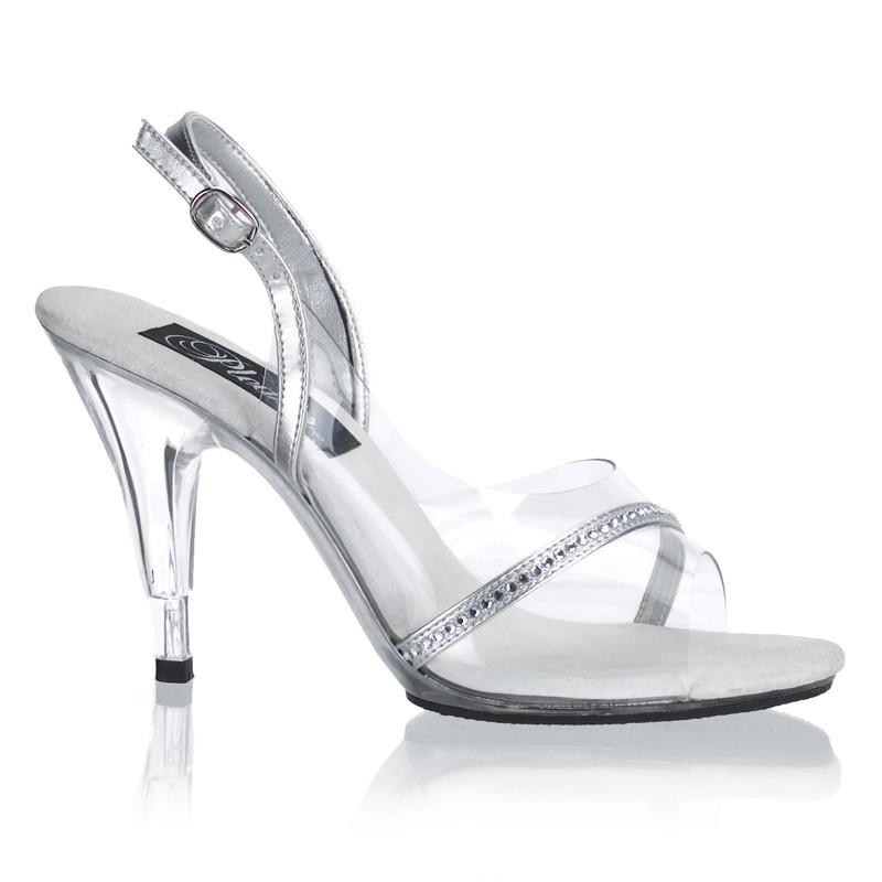 Caress-456 sandálky na podpatku