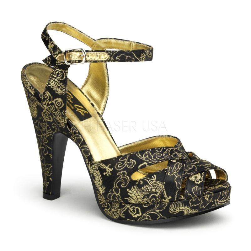 Giggle-07 dámské sandálky Pleaser