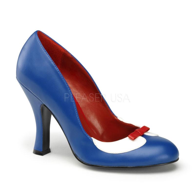 Smitten-05 modré dámské lodičky Pleaser