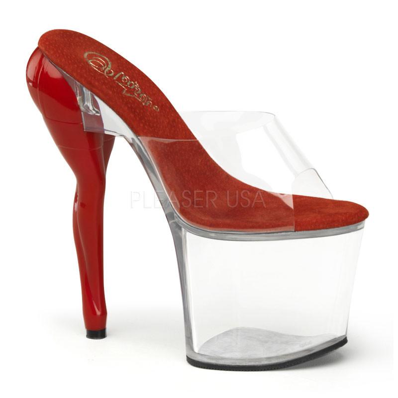 Vixen-701 dámské pantoflíčky na platformě