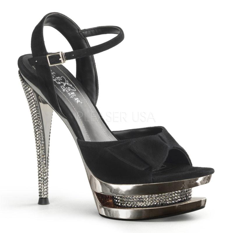 Fascinate 615-Dámské sandálky Pleaser na platformě