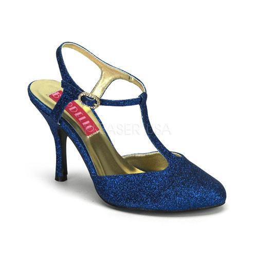 Violette 12G modré sandálky Pleaser