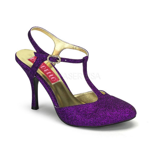 Violette 12G fialové sandálky Pleaser
