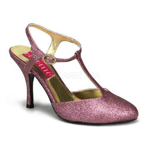 Violette 12G růžové sandálky Pleaser