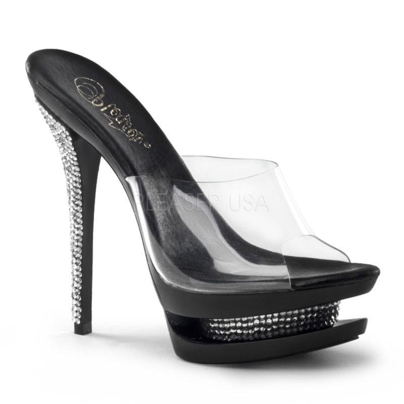 Blondie 601RS sandálky na platformě Pleaser