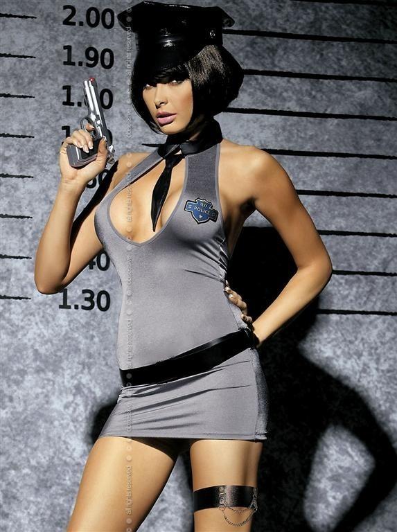 Sexy kostým Obsessive Police dress