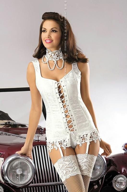 Korzet Obsessive Bride corset