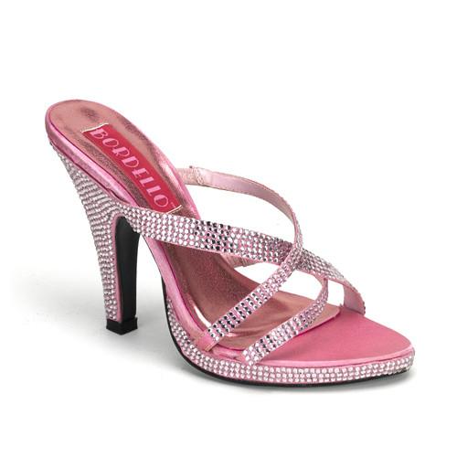 Siren-02R dámská obuv Pleaser na platformě a podpatku