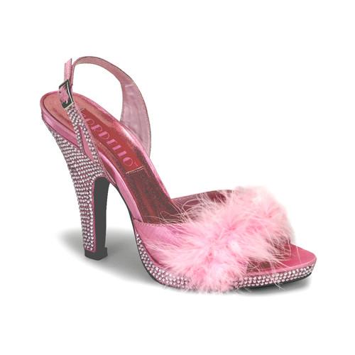Siren-04 dámská obuv Pleaser na platformě a podpatku