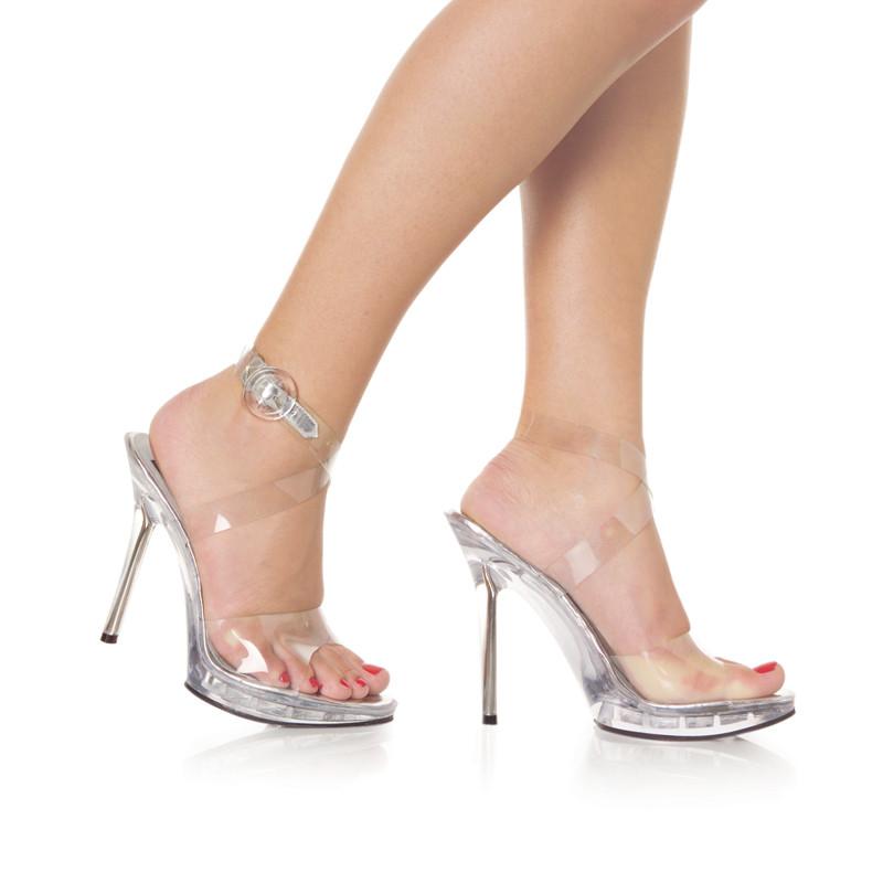 Vogue-06 boty Pleaser na vysokém podpatku