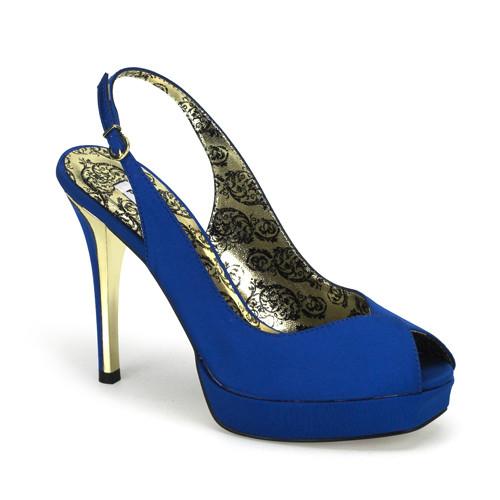 Peony-03 dámská obuv Pleaser na platformě a podpatku