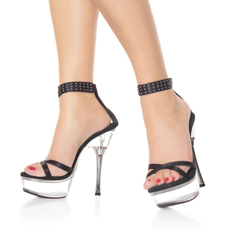 Allure-660 sandálky na střední platformě a podpatku