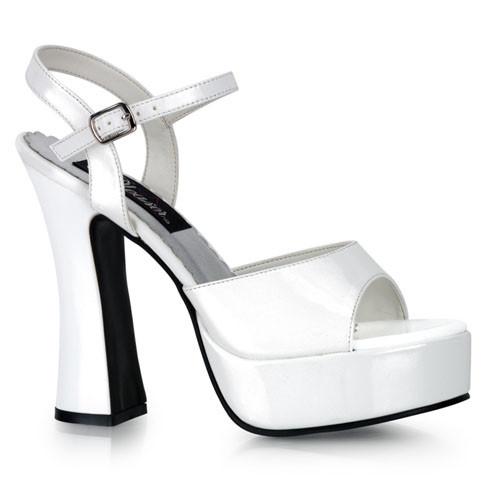 Dolly-09 sandálky Pleaser na střední platformě a podpatku