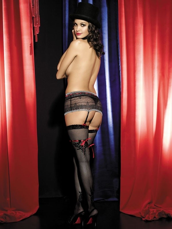 Punčochy Obsessive Showgirl stocking