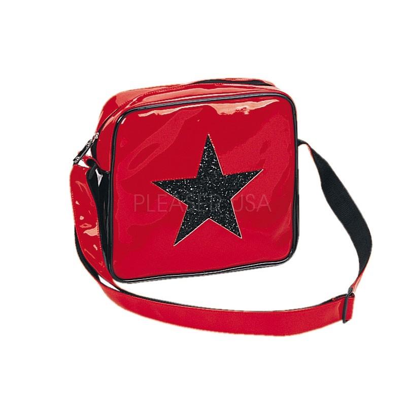 Taška přes rameno - červená