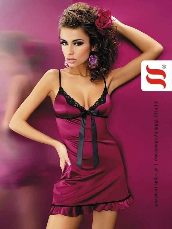 Košilka Obsesssive Flamenco chemise XXL