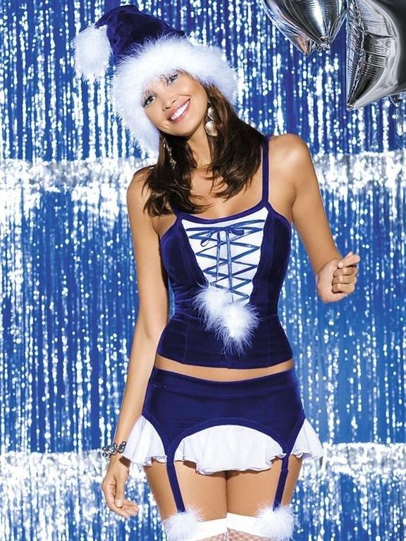 Vánoční kostým Obsessive Snowflake corset