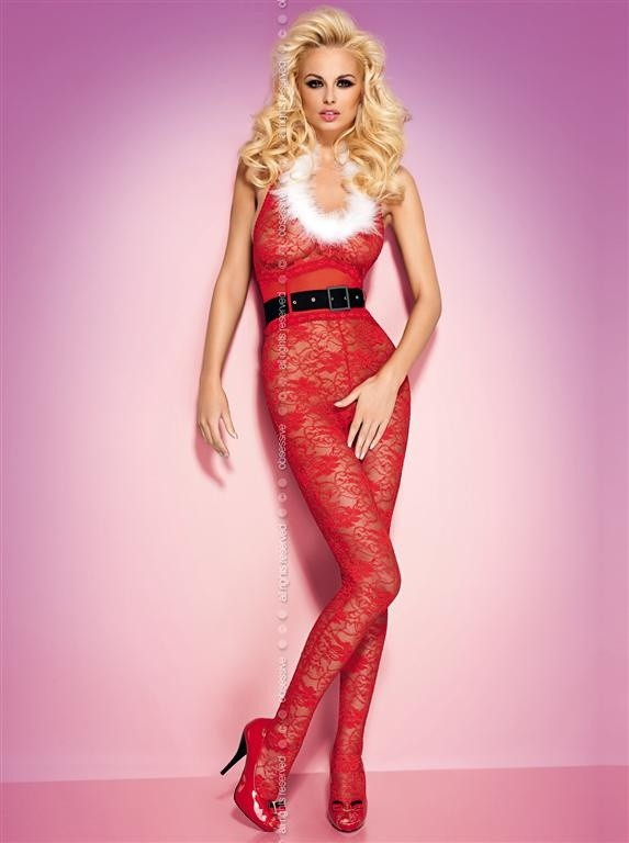 Body Obsessive Xmas bodystocking