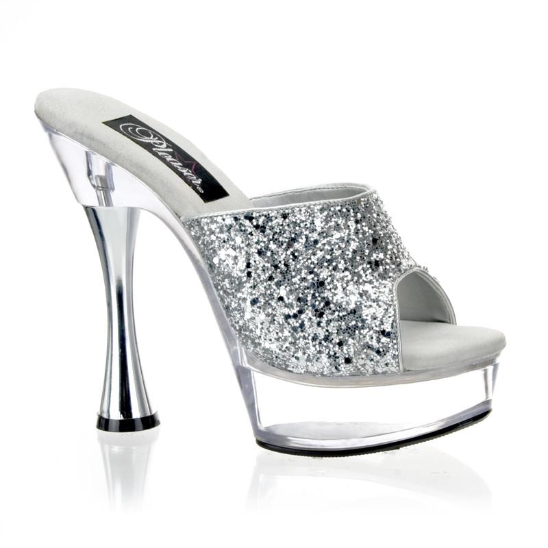 Sweet-401-2 dámská obuv Pleaser na střední platformě a podpatku