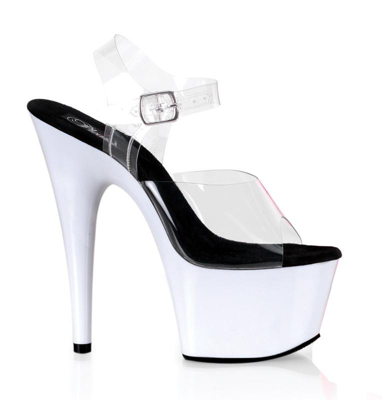 Adore-708 UV obuv Pleaser na vysoké platformě a podpatku