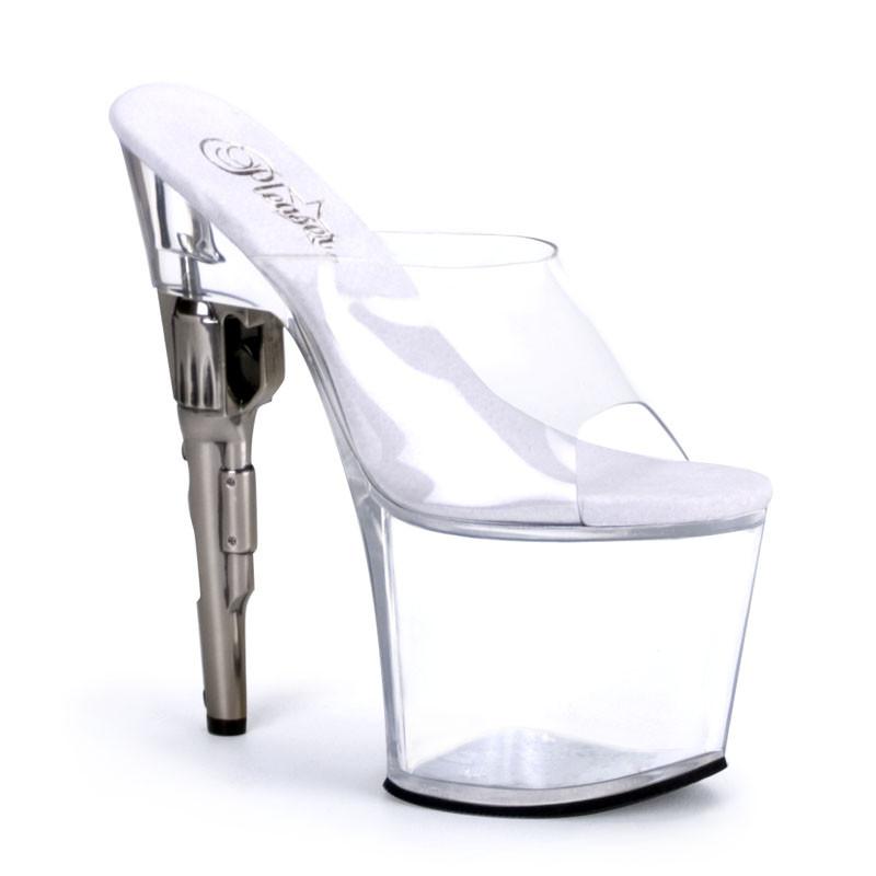 Bondgirl-701 pantofle Pleaser na vysokém podpatku